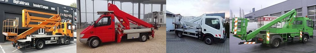 Truck-mounted lifts